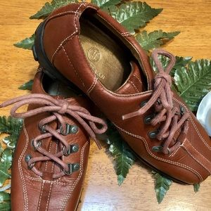 Cole Haan Women's Waterproof leather Oxfords